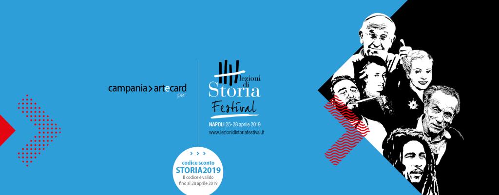 Artecard for Lezioni di Storia Festival: promo code and tours